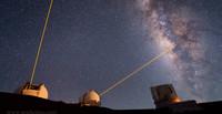 """""""Mauna Kea Heavens"""", la luz de láser desde las alturas de Hawaii"""