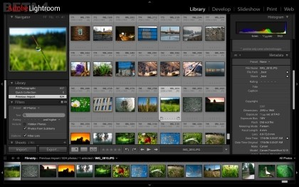 Adobe Photoshop Lightroom 1.2 y Adobe Camera Raw 4.2