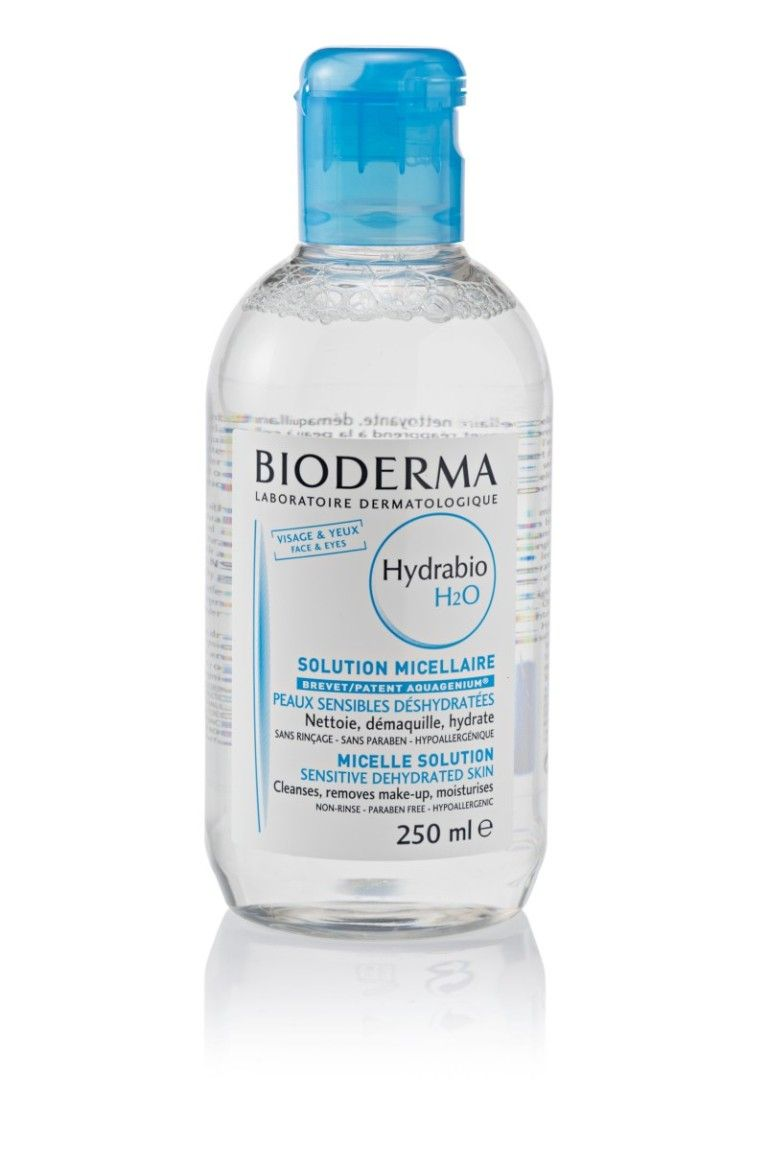 Agua micelar para piel deshidratada Hydrabio H2O de Bioderma