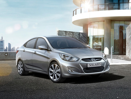 Ventas de coches en Rusia 2014 - Hyundai Solaris 2010