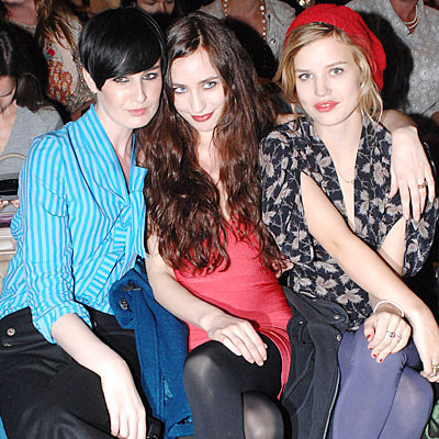 Front-row en la Semana de la Moda de Londres