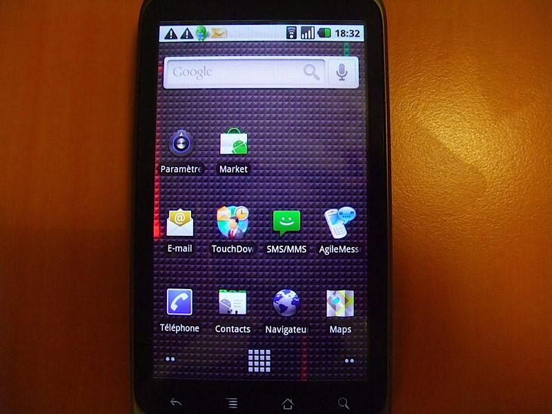 Nexus One, galería de calidad