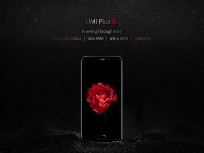 Venta Flash: Smartphone Umi Plus E, con 6GB de RAM, por 203,79 euros