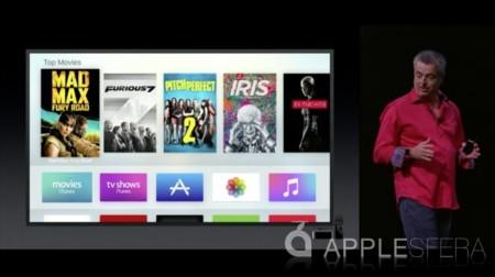 Nuevo Apple TV, apps y Siri para el futuro de la televisión
