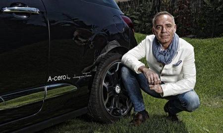 Joaquín Torres con el Citroën DS3