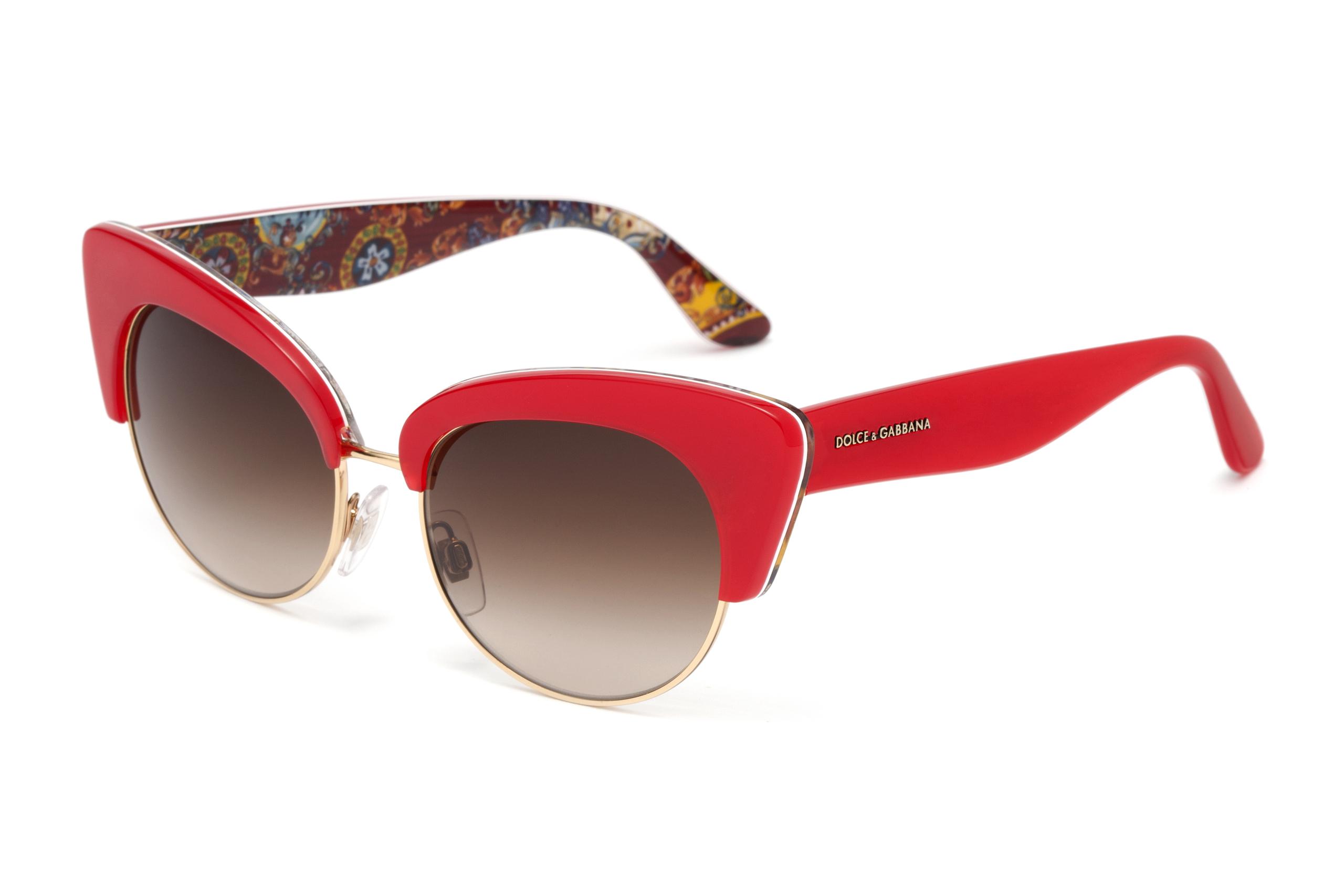 Foto de Gafas de sol Dolce Gabbana Sicilian Carretto (2/12)
