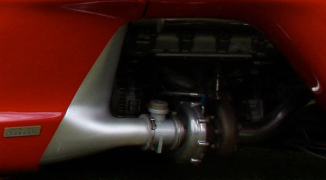 Peugeot Proxima 1986, detalle