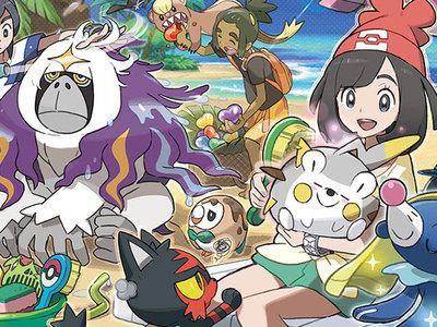 Las versiones digitales de Pokémon Sol y Luna ocuparán 3.2GB cada una