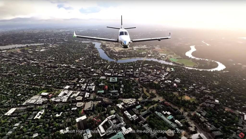 Un nivel más realista: es lo que puede alcanzar Microsoft con Flight Simulator si aplican a la vez el uso de RayTracing y Bing