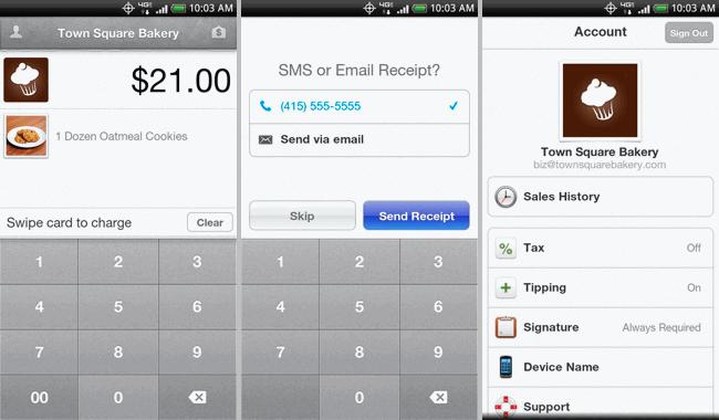 Square, un TPV en tu Android
