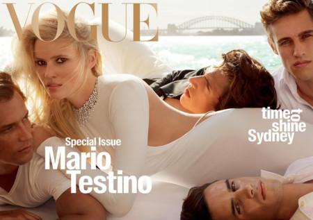 Vogue Australia: Lara Stone