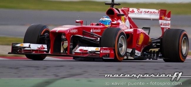 Fernando Alonso Test BCN