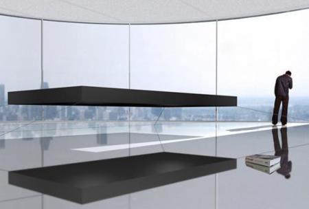 Cama magnética flotante, una cama de 1.200.000 euros