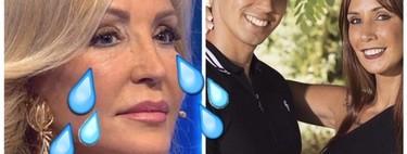 Christofer y Fani  cancelan su bodorrio cuando Carmen Lomana ya tenía su modelito preparado