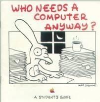 La publicidad creada por Matt Groening para Apple