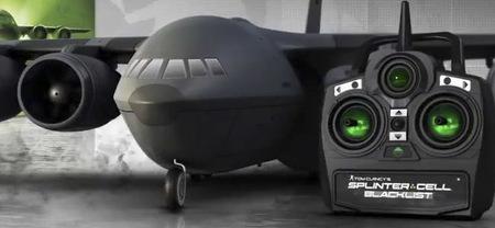 Un avión teledirigido en la edición coleccionista de 'Splinter Cell: Blacklist'