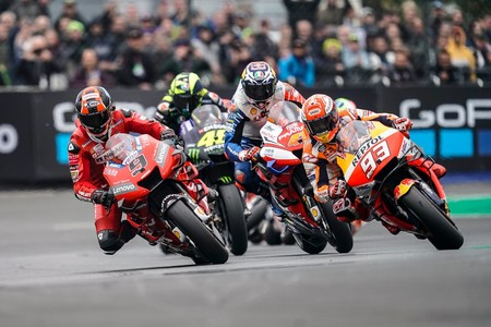 Petrucci Marquez Le Mans Motogp 2019