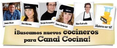 Casting de cocineros para Canal Cocina