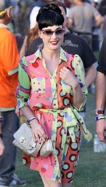 La esperada pasarela de celebrities en el festival de Coachella