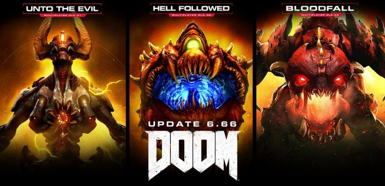 La actualización 6.66 de DOOM desbloquea gratuitamente todos sus DLC y ya se puede descargar