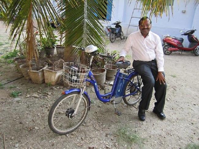 Bicicleta eléctrica India
