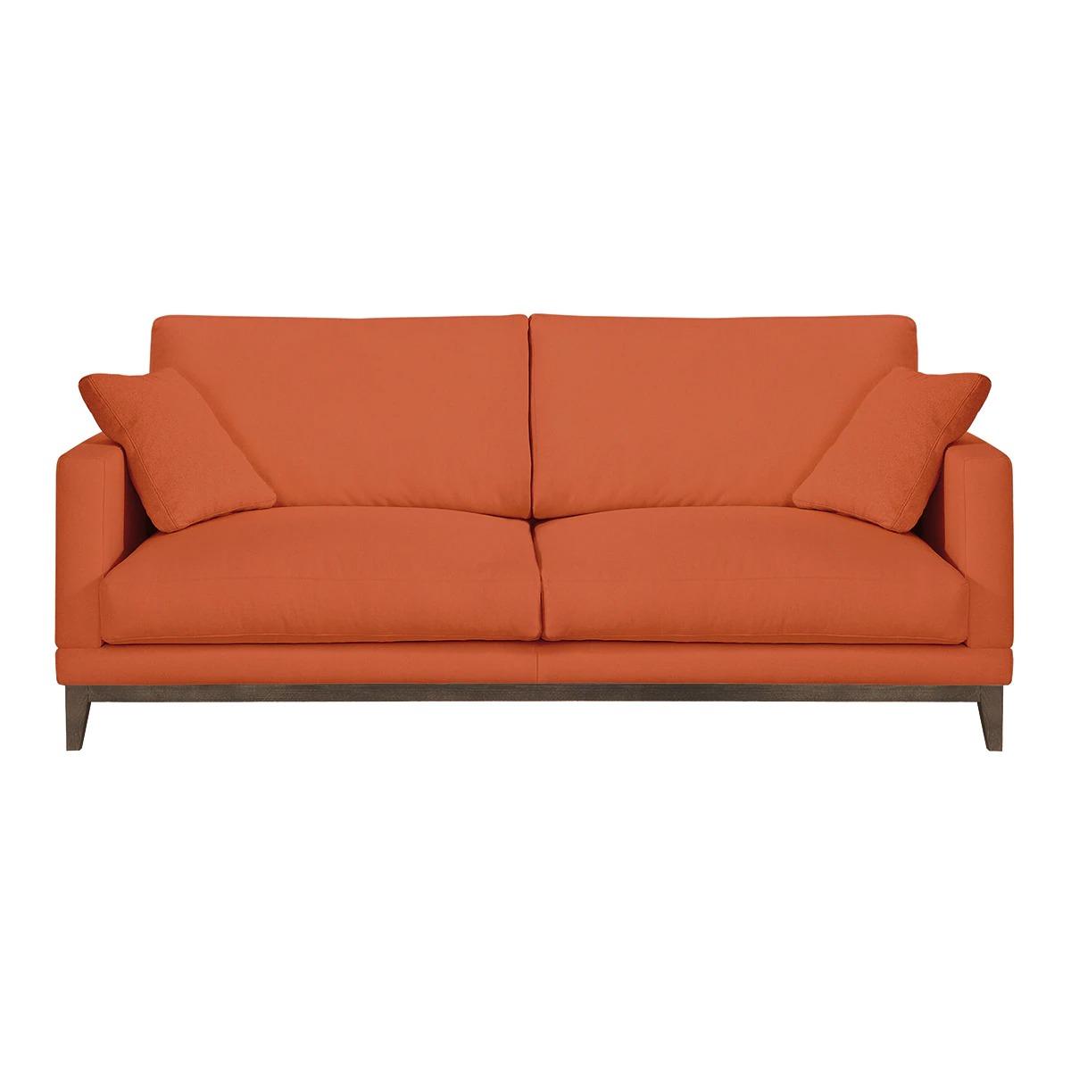 EL CORTE INGLÉS - ROOM Sofá de 2,5 plazas tapizado con base wengué Breda Room - El Corte Inglés