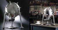 Cafetera expresso Etienne Louis, como llegada del espacio