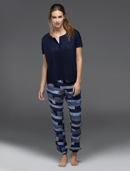 Pijama Pacthwork Womensecret