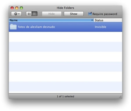 Hide Folders, esconde carpetas de manera sencilla en Mac