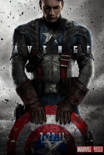 'Captain America: The First Avenger', primer cartel y últimas fotos