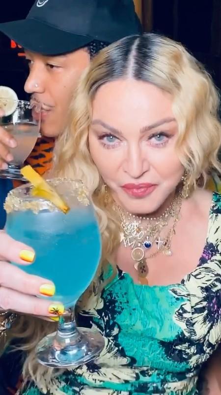Madonna, nada de worries y muy happy en su party jamaicana de cumpleaños