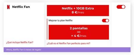 Netflix Fan Virgin telco
