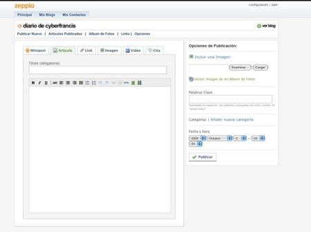 Zeppia, nueva plataforma de publicación de blogs