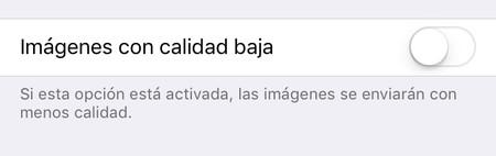 Ios Mensajes Calidad Baja