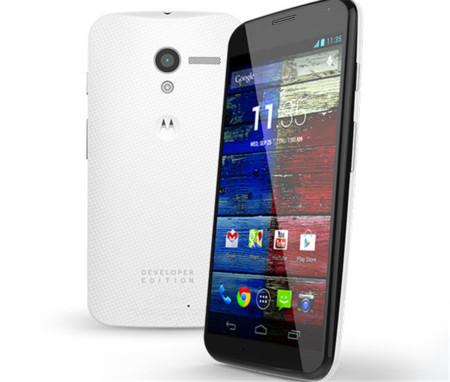 Motorola prepara el lanzamiento del Moto X Developer Edition