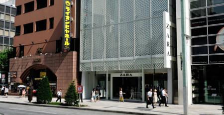 Zara Ginza Japon tienda