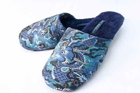La diseñadora de moda Vivienne Tam crea unas slippers edición limitada para Hilton