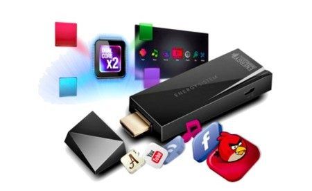 Acerca las bondades de Android a tu TV con Energy Sistem Android TV Dongle Dual