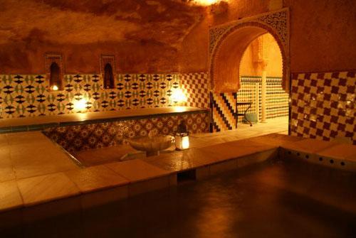 Baños árabes de Granada: descuentos para estudiantes
