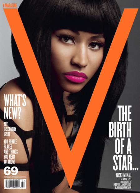 Nicki en V Magazine, sus mejores portadas