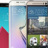Precios de los gama alta Android 2015, sin novedades en el frente: altos y casi idénticos