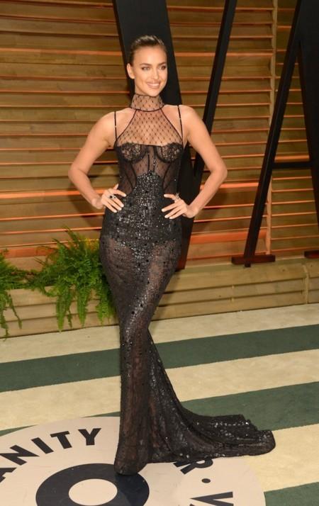 Irina Shayk oscar 2014 vanity fair