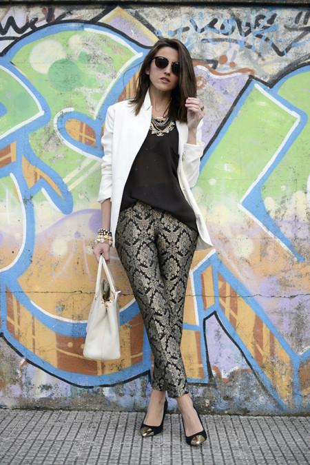 Zapato de tacon con detalle metalico punta Lovely pepa tendencias otono invierno 2013 2014