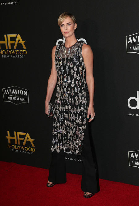 Charlize Theron hollywood film awards 2019