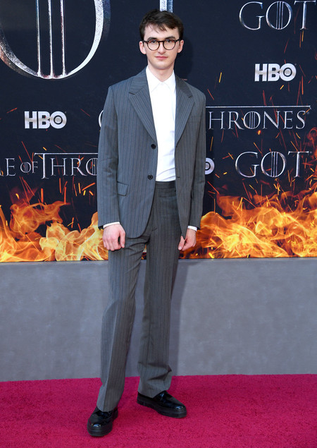 Isaac Hempstead Wright Game Of Thrones Final Season Premiere Red Carpet
