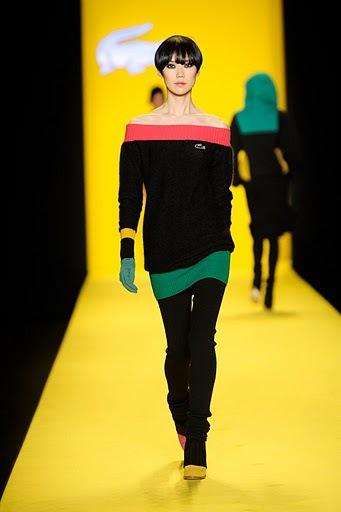 Lacoste en la Semana de la Moda de Nueva York Otoño-Invierno 2010-2011