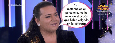'TCMS 8': Falete se mete en la piel de Isabel Pantoja con pullita a su polémica situación en Cantora incluida