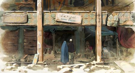Crítica las golondrinas de Kabul
