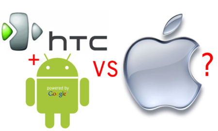 Google apoyará a HTC en su defensa contra Apple