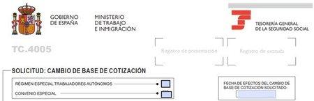 Se amplían los plazos para cambiar la base de cotización en autónomos